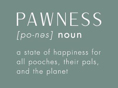 Afbeelding, Pionnennaamwoord, een staat van geluk voor alle poochess-pawness