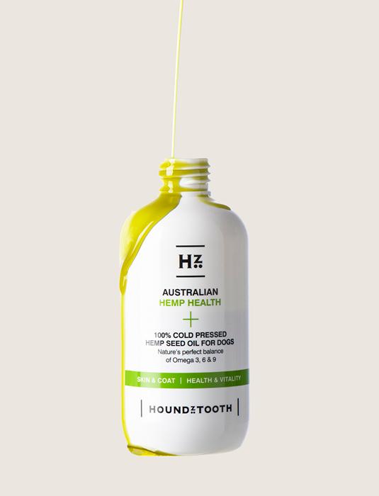 Houndztooth 100% koudgeperste hennepzaadolie