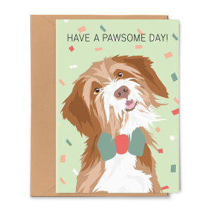 Wenskaart Have a Pawsome Day
